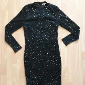 Charlotte Russe Sequin Mesh Party Dress